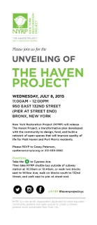 Invitation_Haven Project Unveiling_7-8-15
